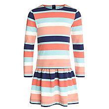 Buy Kin by John Lewis Girls' Stripe Jersey Dress, Multi Online at johnlewis.com