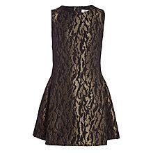 Buy Somerset by Alice Temperley Girls' Jacquard Dress, Black Online at johnlewis.com