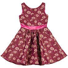 Buy Derhy Kids Girls' Lea Flower Print Dress, Pink Online at johnlewis.com