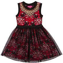 Buy Derhy Kids Girls' Madina Dress, Red Online at johnlewis.com