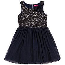 Buy Derhy Kids Girls' Lison Sequin Bodice Dress, Navy Online at johnlewis.com
