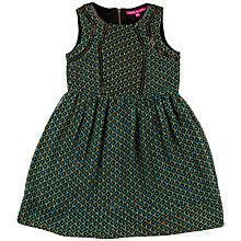 Buy Derhy Kids Girls' Malicia Geo Print Dress, Green Online at johnlewis.com