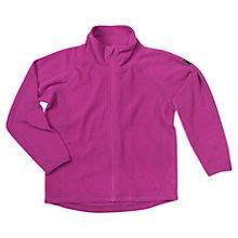 Buy Polarn O. Pyret Baby's Zip-Up Fleece Online at johnlewis.com