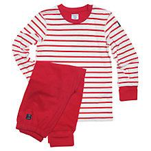 Buy Polarn O. Pyret Baby Stripe Pyjamas Online at johnlewis.com
