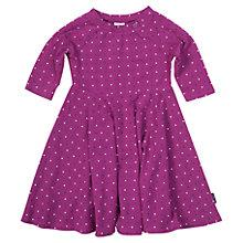 Buy Polarn O. Pyret Baby's Flower and Spot Dress Online at johnlewis.com