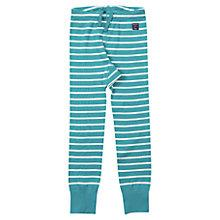 Buy Polarn O. Pyret Baby's Stripe Leggings, Green Online at johnlewis.com