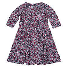 Buy Polarn O. Pyret Baby's Flower and Spot Dress, Blue Online at johnlewis.com