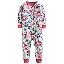 Buy Baby Joule Floral Freda Sleepsuit, Multi Online at johnlewis.com