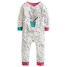 Buy Baby Joule Spotted Flopsy Sleepsuit, Multi Online at johnlewis.com