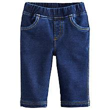 Buy Baby Joule Hugo Denim-Look Trousers, Blue Online at johnlewis.com