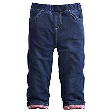 Buy Baby Joule Denim-Look Jeggings, Blue Online at johnlewis.com