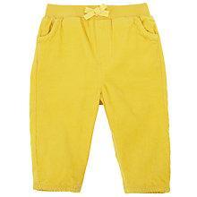 Buy John Lewis Corduroy Trousers, Yellow Online at johnlewis.com