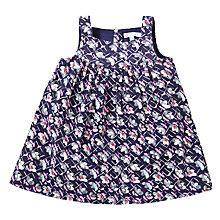 Buy John Lewis Vintage Floral Corduroy Pinafore Dress, Navy/Multi Online at johnlewis.com