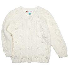 Buy John Lewis Chunky Cable Knit Cardigan Online at johnlewis.com