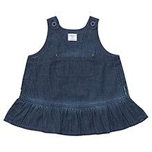 Buy Polarn O. Pyret Baby's Denim Dress, Denim Online at johnlewis.com