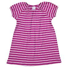 Buy Polarn O. Pyret Children's Stripe Dress, Purple Online at johnlewis.com