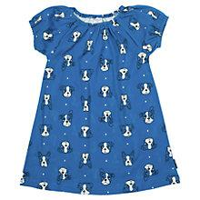 Buy Polarn O. Pyret Children's Dog Print Dress, Blue Online at johnlewis.com