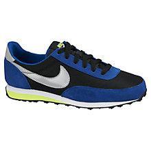 Buy Nike Children's Elite SI Trainers, Blue/Black Online at johnlewis.com