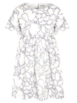 Buy Kin by John Lewis Girls' Ditsy Floral Dress, Grey Online at johnlewis.com