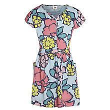 Buy Kin by John Lewis Girls' Floral Button-Through Dress, Multi Online at johnlewis.com