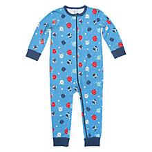 Buy Polarn O. Pyret Baby's Planet Sleepsuit Online at johnlewis.com