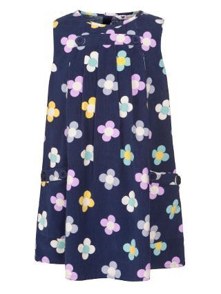 Buy John Lewis Girl Floral Corduroy Pinafore Online at johnlewis.com