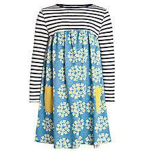 Buy John Lewis Girl Half and Half Floral Circle Dress Online at johnlewis.com