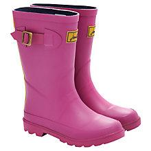 Buy Little Joule Field Wellington Boots, Hot Pink Online at johnlewis.com