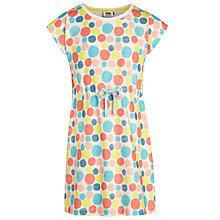 Buy Kin by John Lewis Girls' Spot Jersey Dress, Multi Online at johnlewis.com