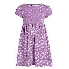 Buy John Lewis Girl Spot & Floral Print Jersey Dress Online at johnlewis.com