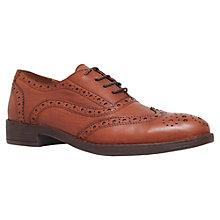 Buy Carvela Lucky Flat Heel Lace Up Leather Brogues Online at johnlewis.com