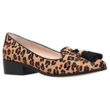 Buy Carvela Laura Pony Tassel Loafers, Leopard Online at johnlewis.com