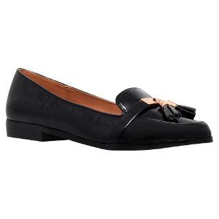Buy Miss KG Nadie Patent Loafers, Black Online at johnlewis.com
