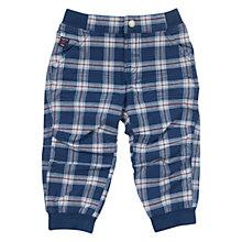 Buy Polarn O. Pyret Baby's Cargo Trousers, Blue/Multi Online at johnlewis.com