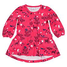 Buy Polarn O. Pyret Baby's Woodland Day Dress, Pink/Multi Online at johnlewis.com