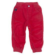 Buy Polarn O. Pyret Baby's Corduroy Trousers, Red Online at johnlewis.com