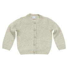 Buy Polarn O. Pyret Cotton Cardigan, White Online at johnlewis.com