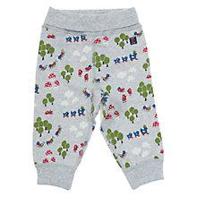 Buy Polarn O. Pyret Woodland Print Trousers, Grey Online at johnlewis.com