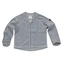Buy Polarn O. Pyret Fleece Cardigan, Grey Online at johnlewis.com