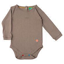 Buy Little Green Radicals Pointelle Bodysuit Online at johnlewis.com