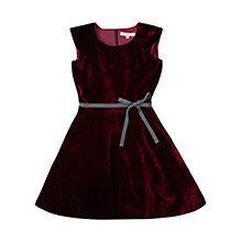 Buy Jigsaw Junior Girls' Velvet Dress Online at johnlewis.com