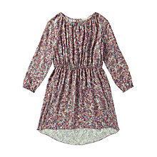 Buy Jigsaw Junior Girls' Brushstroke Print Dress, Multi Online at johnlewis.com