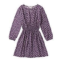 Buy Jigsaw Junior Girls' Repeat Owl Print Dress, Purple Online at johnlewis.com