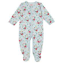 Buy Cath Kidston Baby Sleepsuit, Clifton Rose Online at johnlewis.com