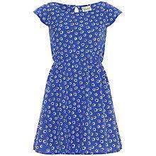 Buy Yumi Girl Daisy Print Dress, Blue Online at johnlewis.com