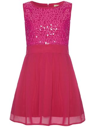 Buy Yumi Girl Sequin Party Dress Online at johnlewis.com