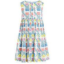 Buy John Lewis Girl Floral Print Smock Dress, Multi Online at johnlewis.com