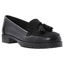 Buy Dune Leland Leather Tassel Loafers Online at johnlewis.com