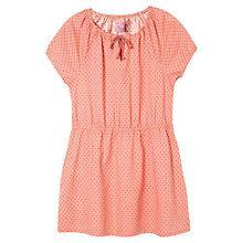 Buy Mango Kids Girls' Short Sleeve Polka Dot Dress Online at johnlewis.com