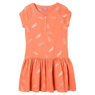 Buy Mango Kids Girls' Repeat Feather Print Dress Online at johnlewis.com